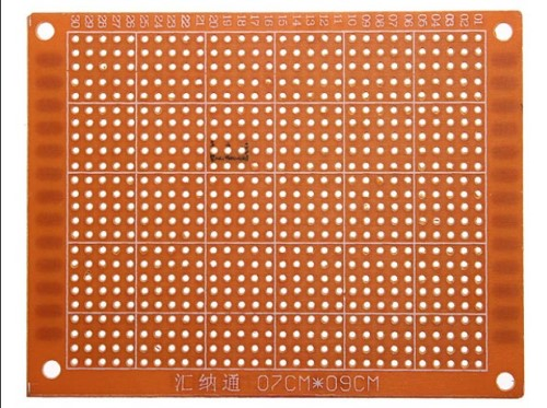 Gambar PCB prototype