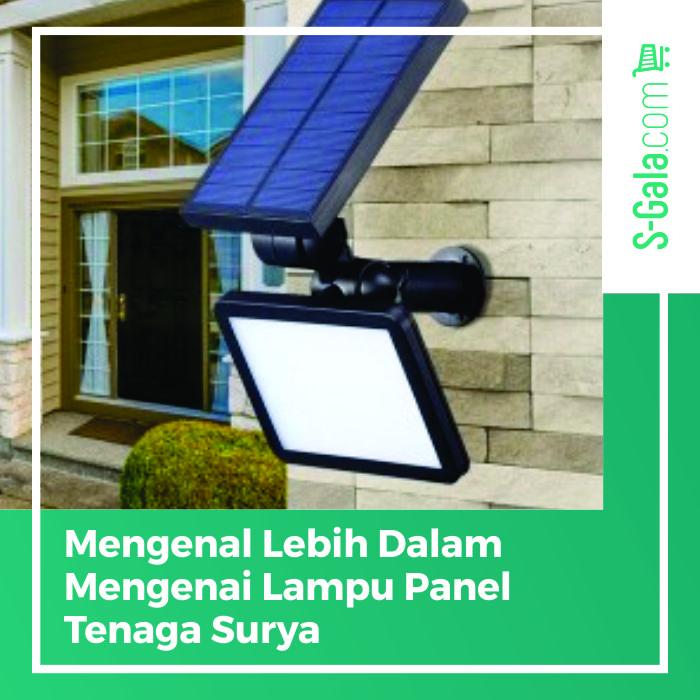 Lampu panel tenaga surya