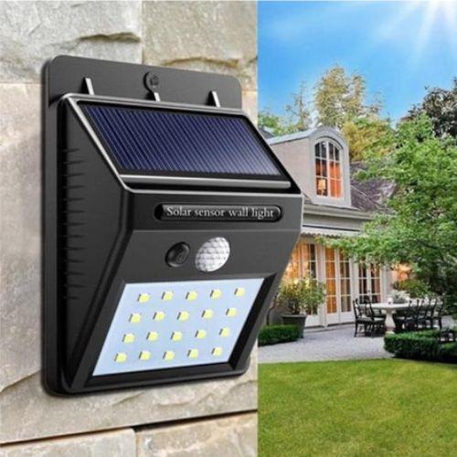Gambar lampu panel tenaga matahari