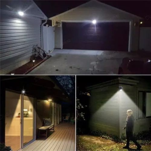 Gambar penggunaan lampu panel solar