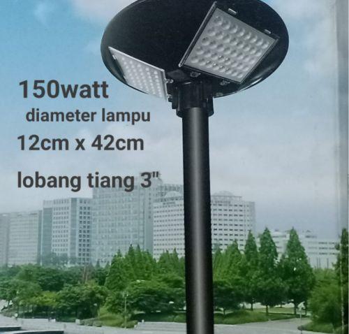 Gambar lampu jalan tenaga solar
