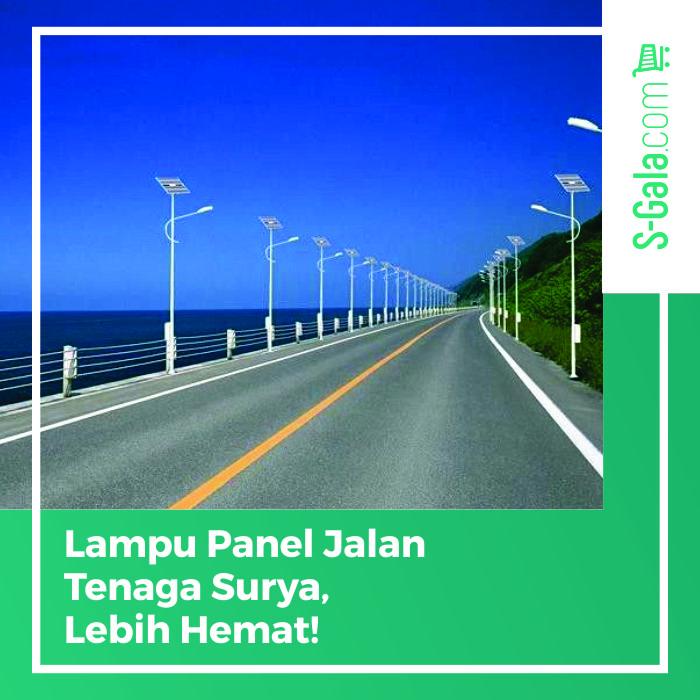 Lampu Panel Jalan Tenaga Surya
