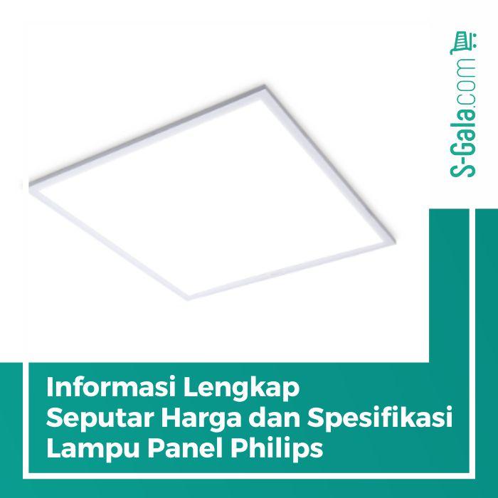 Lampu Panel Philips