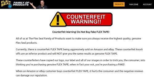 Beredar flex tape palsu di marketplace