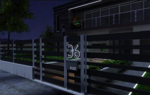 rumah tanpa lampu sorot led outdoor