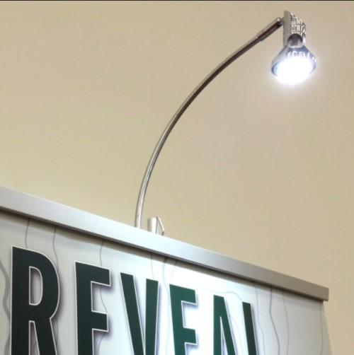 lampu sorot led outdoor banner