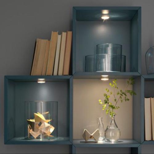 Gambar pemakaian lampu sorot IKEA ledberg