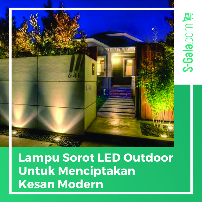 Lampu Sorot LED Outdoor