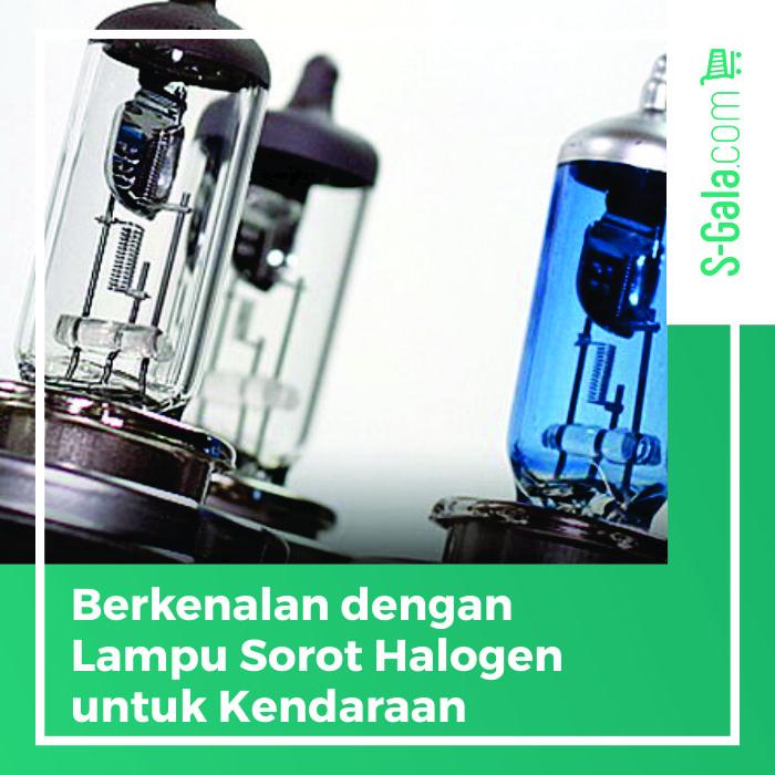 Lampu sorot halogen