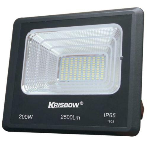 Gambar lampu sorot Krisbow tipe Solar 200 W 2500 LM
