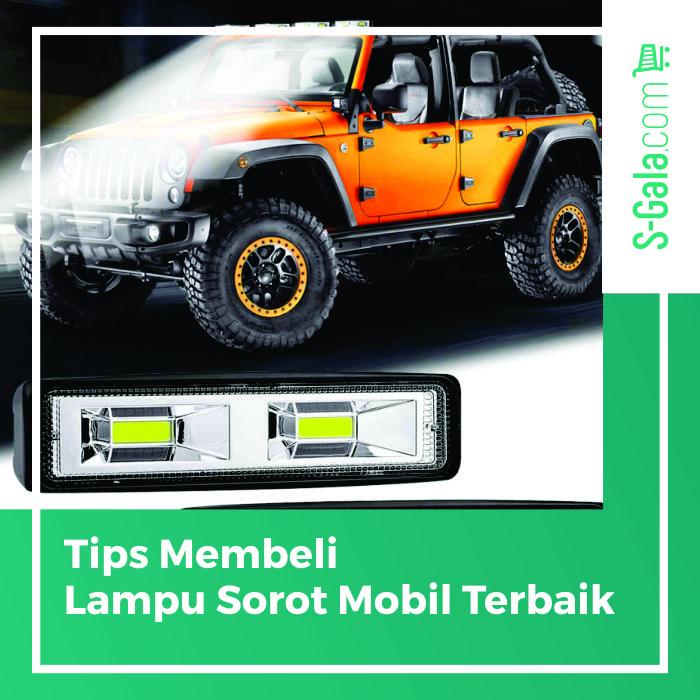 Lampu sorot mobil