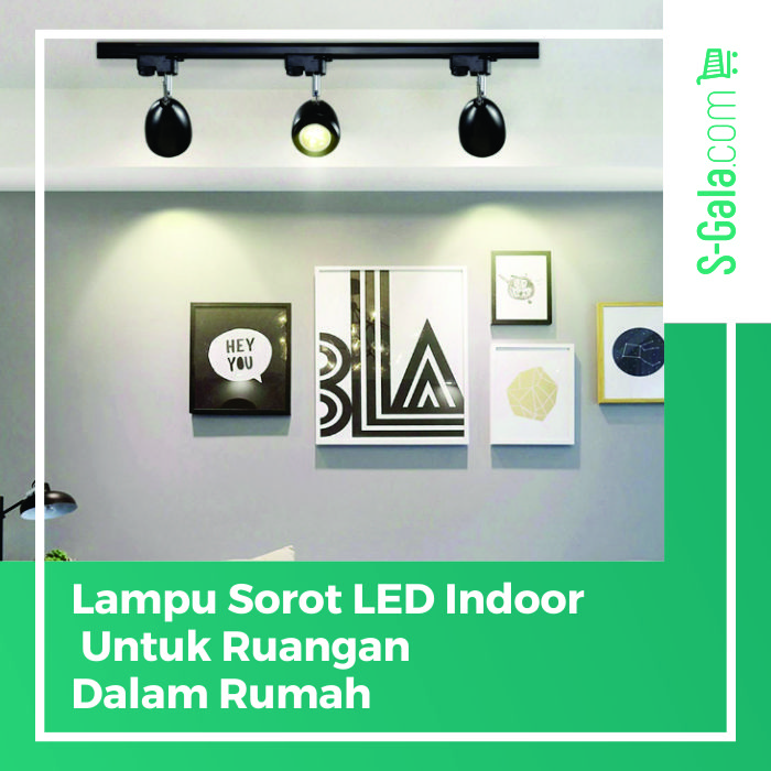 Lampu sorot LED indoor
