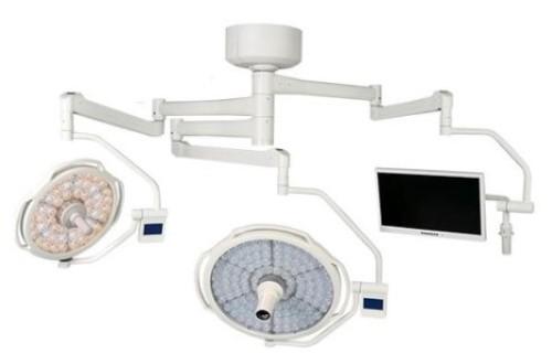 Monitor pada lampu sorot medis