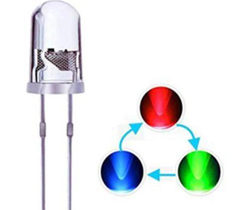 Gambar lampu bicolor LED