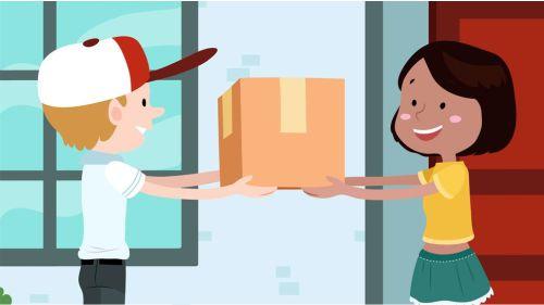 Bisnis pengiriman barang