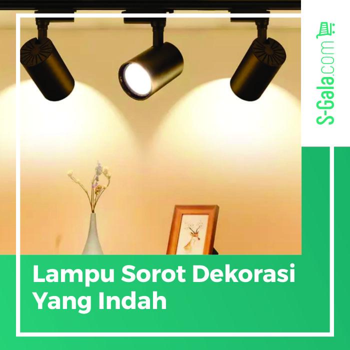 Lampu sorot dekorasi