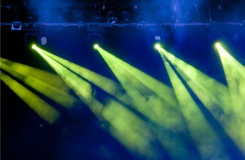 Gambar lampu sorot PAR untuk panggung