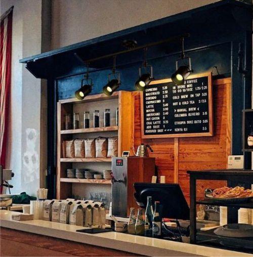 Gambar lampu sorot cafe untuk mini bar