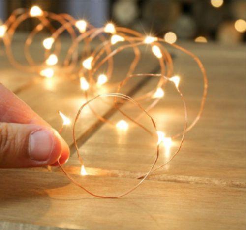 Gambar lampu TUMBLR kawat dengan baterai