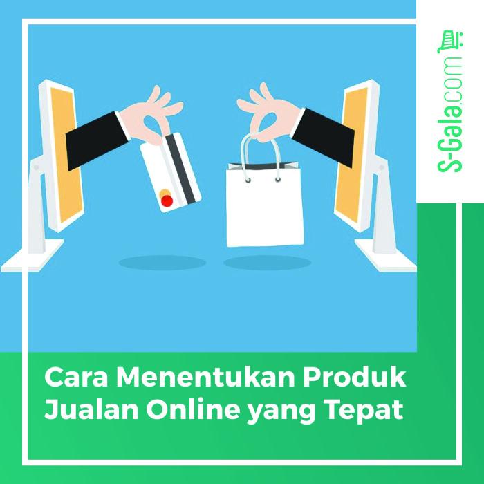 Menentukan Produk Jualan Online