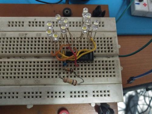Gambar rangkaian lampu TUMBLR LED sederhana