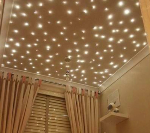 Gambar lampu TUMBLR pada plafon rumah