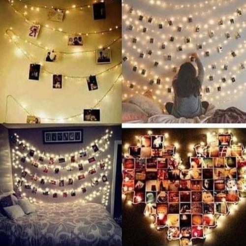 Gambar contoh penggunaan lampu LED tumblr di kamar