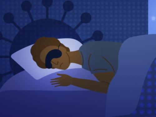 Tidur pulas pada malam hari