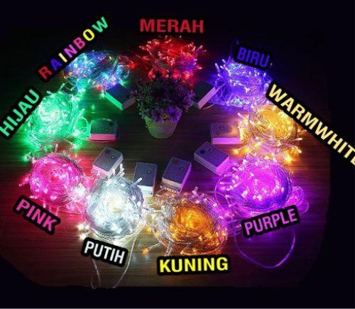 Lampu tumblr warna-warni