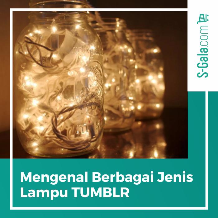 Berbagai jenis lampu TUMBLR