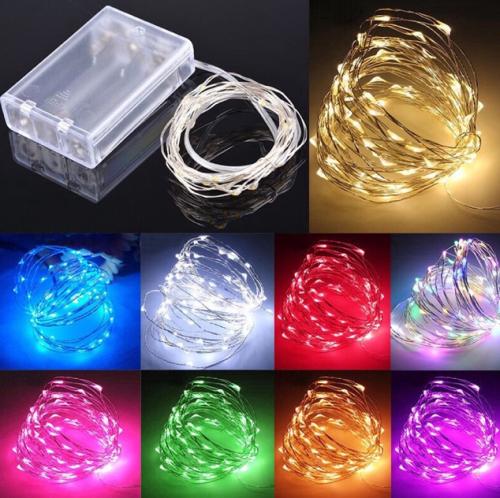 Gambar lampu kawat tumblr dengan tempat baterai