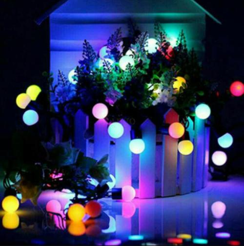 Jenis lampu tumblr berbentuk bola atau bulat
