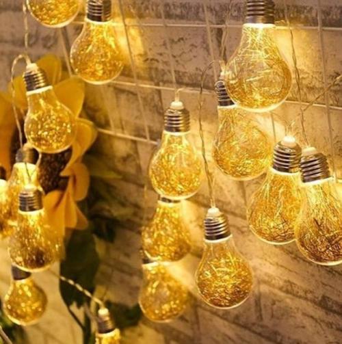 Gambar lampu tumblr bohlam LED