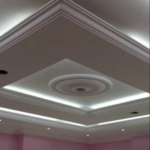 Gambar Plafon Gypsum untuk dekorasi ruangan