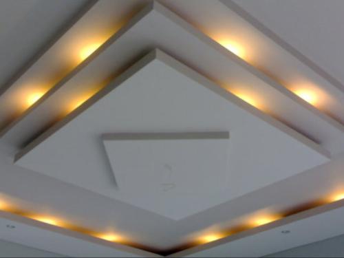 Gambar contoh dekorasi drop ceiling