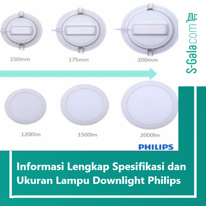 Lampu Downlight Philips