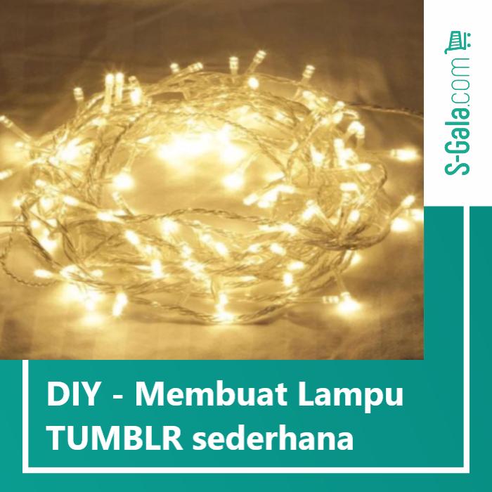 Cover Lampu Tumblr