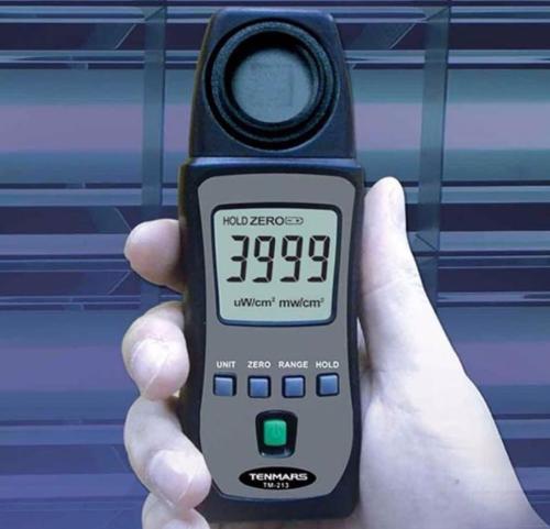 Gambar contoh UV light meter