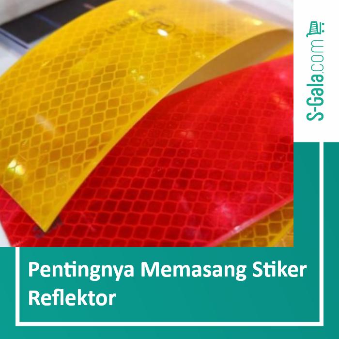 Stiker Reflektor