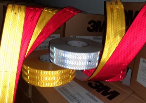 warna-warna stiker reflektor