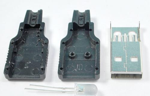 Bahan untuk membuat lampu UV pendeteksi uang palsu