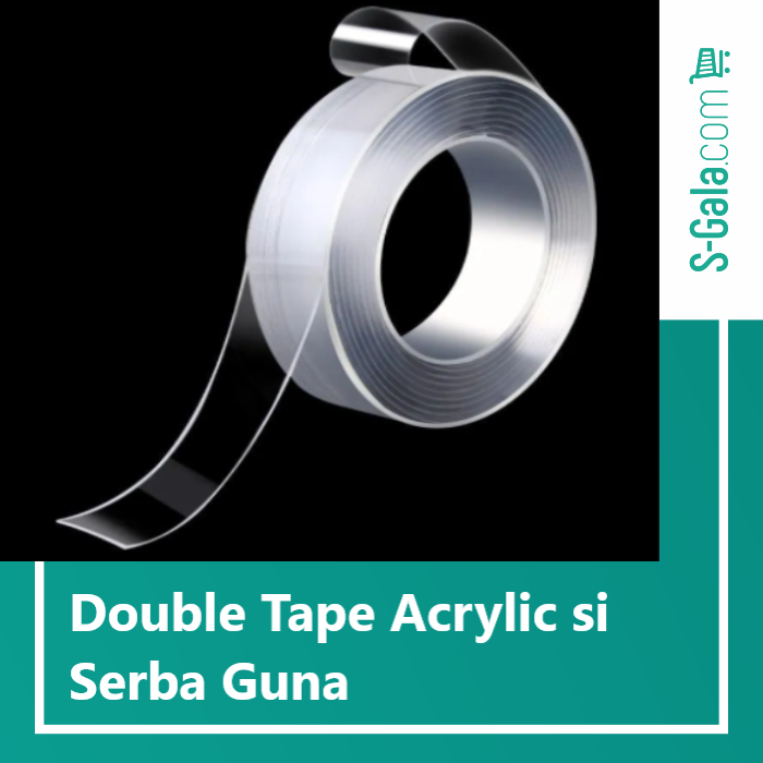 Double tape acrylic
