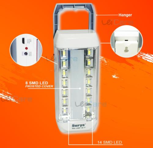 Gambar lampu emergency merk Surya