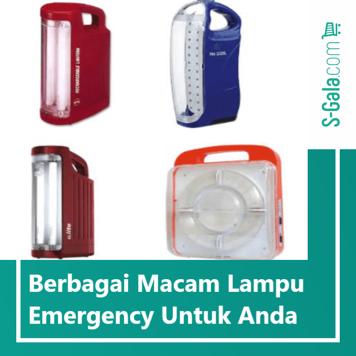 macam lampu emergency