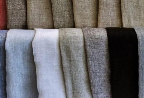 Gambar kain linen