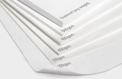 Gambar perbandingan gramasi kertas