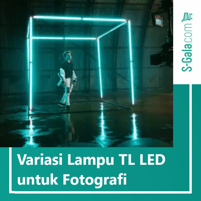 Lampu TL LED untuk fotografi