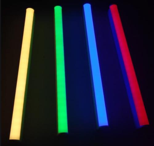 Gambar lampu tube neon berwarna