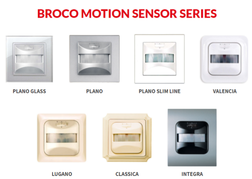 Gambar saklar sensor gerak merk Broco
