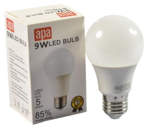 Lampu bohlam merk APA